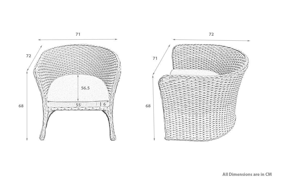 PRODUCT DIMENSIONS_HARTLAND CHAIRS