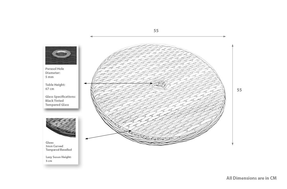 PRODUCT DIMENSIONS_LAZY SUSAN