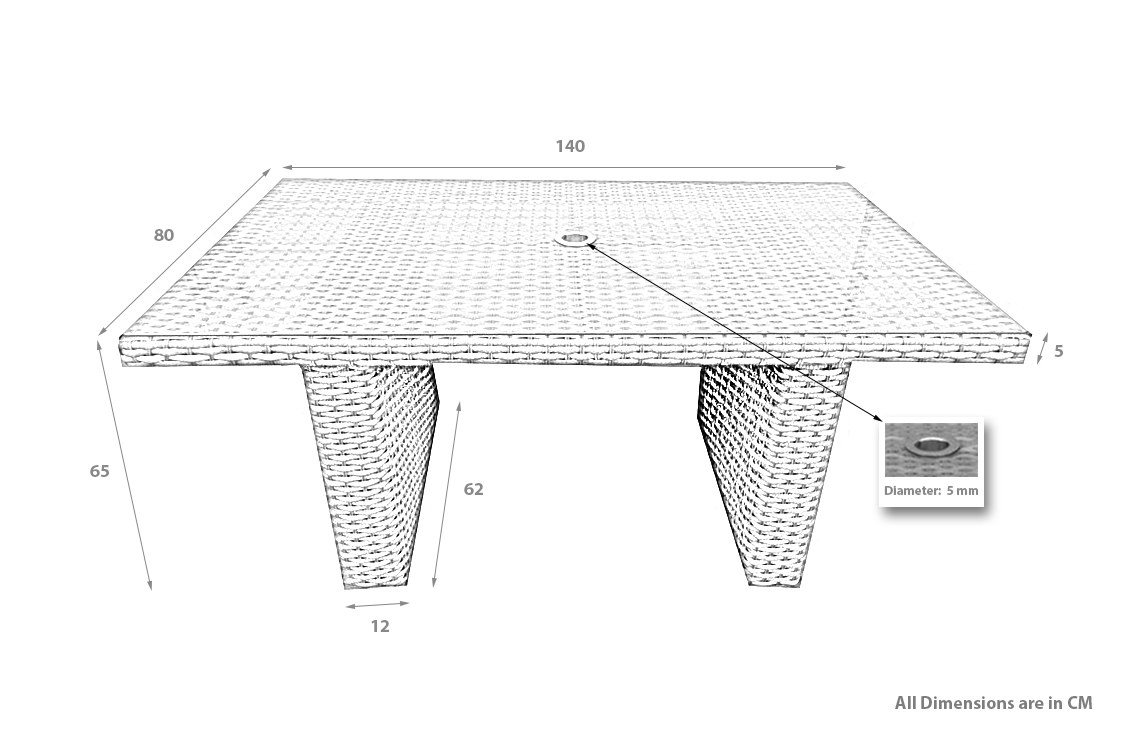 PRODUCT DIMENSION_MSD DINING TABLE