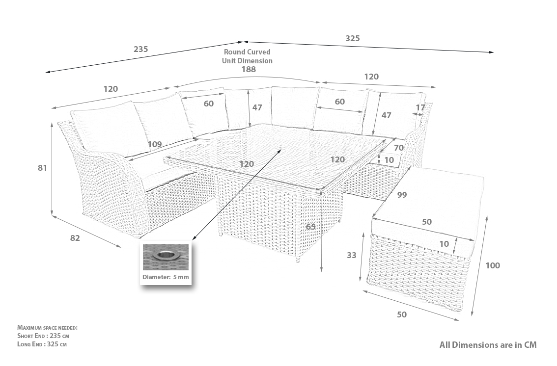 PRODUCT DIMENSIONS_NOTTINGHAM CORNER SET WITHOUT THE ARMLESS CHAIRS
