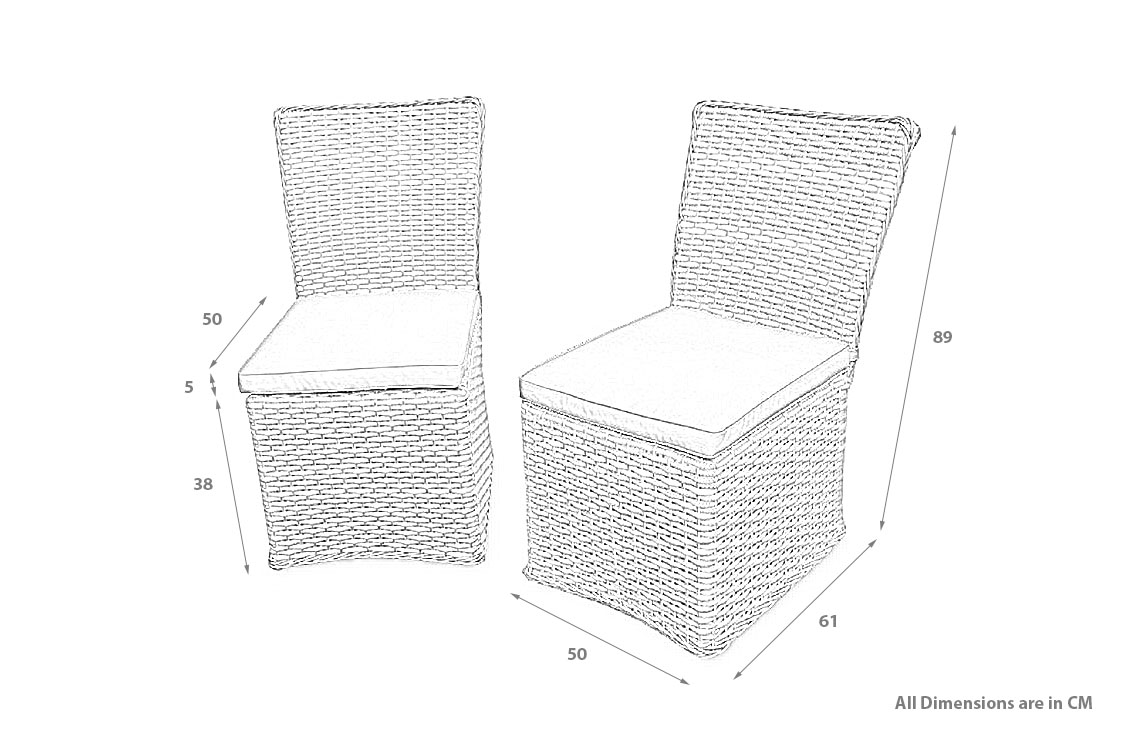 PRODUCT DIMENSION_RAL CHAIRS