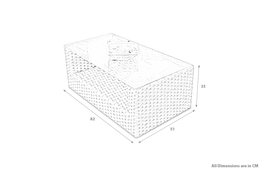 PRODUCT DIMENSIONS_RECTANGULAR COFFEE TABLE